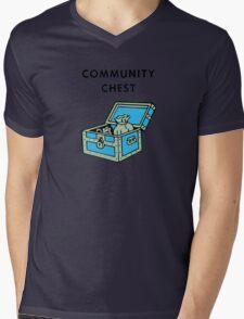 Community Chest Mens V-Neck T-Shirt
