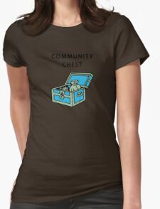 Community Chest Womens Fitted T-Shirt