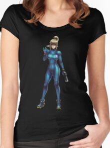 Zero Suit Samus 2014 Women's Fitted Scoop T-Shirt