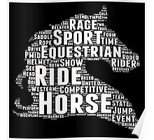 Horse Funny Tshirts Poster