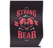 STRONG AS A BEAR Poster