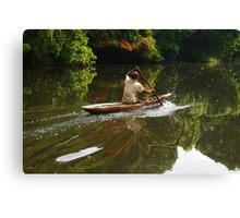 Lobé River Explorer Canvas Print
