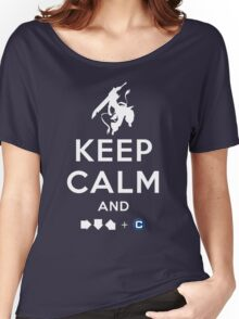 Keep Calm and INFERNO DIVIDER! Women's Relaxed Fit T-Shirt