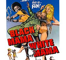 Black Mama White Mama (Green) by PulpBoutique