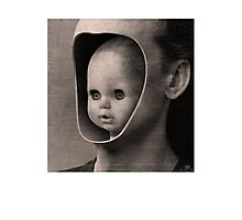 CREEPY DOLL Photographic Print
