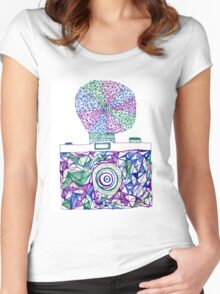 Vintage Camera 4.1 Women's Fitted Scoop T-Shirt