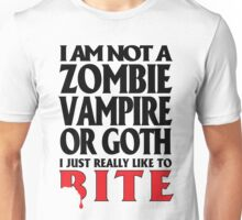 Just really like to bite Unisex T-Shirt