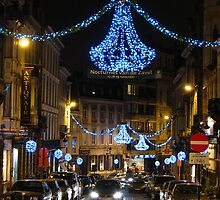Brussels at Chistmas time by adagi0