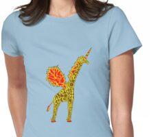 Giralicorn  Womens Fitted T-Shirt