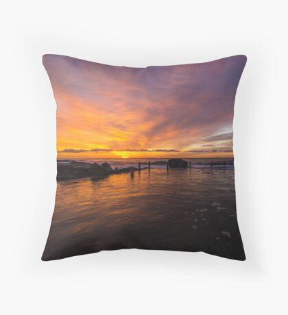 More Maroubra Magic Throw Pillow