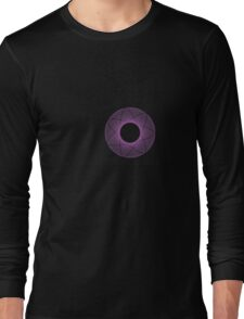 Radical Spirography - Purple Long Sleeve T-Shirt