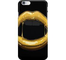 GOLDEN LIPS iPhone Case/Skin