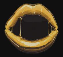 GOLDEN LIPS by cybergold