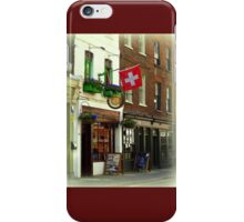 Switzerland in London iPhone Case/Skin