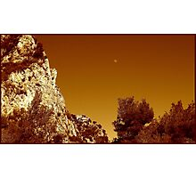 Magnificent cliff Photographic Print