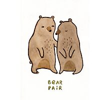 Bear Pair Photographic Print