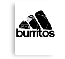 BURRITOS Canvas Print