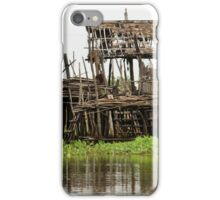 Abandoned Wooden House on Stilts iPhone Case/Skin