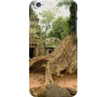 Ta Prohm Temple in Cambodia iPhone Case/Skin