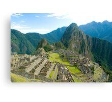 Macchu Picchu, Cuzco, Peru Canvas Print