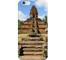 Pyramid Temple in Cambodia iPhone Case/Skin