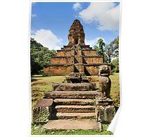 Pyramid Temple in Cambodia Poster
