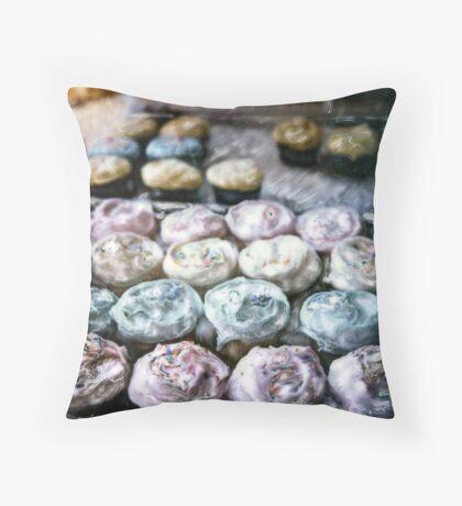 Magnolia Bakery ©2002 W.Cook Throw Pillow