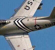 F-86A Sabre 48-0178 G-SABR Sticker