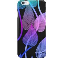 Colorful Vines Summer Leaves Pattern iPhone Case/Skin
