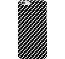2 bit squares (black and white) iPhone Case/Skin