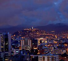 Quito At Night by Bernai Velarde