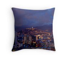 Quito At Night Throw Pillow