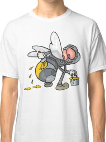 Funny Bee Illustration Classic T-Shirt