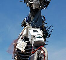 WEEE MAN Waste Electrical and Electronic Equipment Robot by HotHibiscus