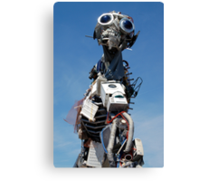 WEEE MAN Waste Electrical and Electronic Equipment Robot Canvas Print