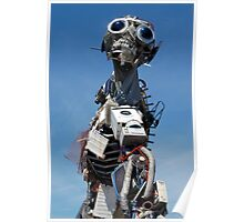 WEEE MAN Waste Electrical and Electronic Equipment Robot Poster