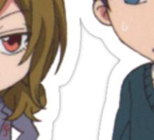 Gekkan Shoujo- Seo and Wakamatsu Sticker