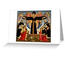 Master of the Fiesole Epiphany Greeting Card