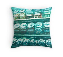 Union Square ©2002 W.Cook Throw Pillow
