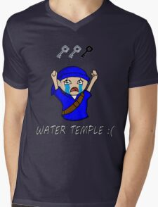 Water Temple Woes Mens V-Neck T-Shirt