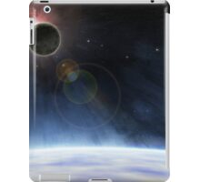 Outer Atmosphere of Planet Earth iPad Case/Skin