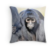 Young Adult - Spider Monkey Throw Pillow