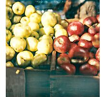 Green Market ©2002 W. Cook Photographic Print