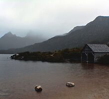Dove Lake Boatshed by ladgrove