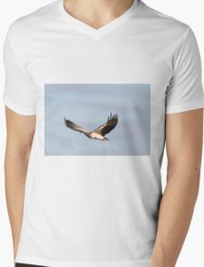 Over The Ponds Mens V-Neck T-Shirt