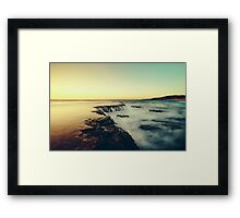 Golden Lance Framed Print