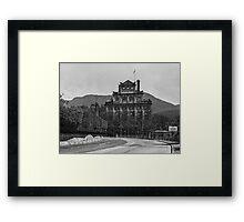 Brewery, Cascades, Hobart Framed Print