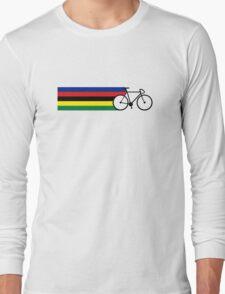 Rainbow Jersey (bicycle racing) Long Sleeve T-Shirt