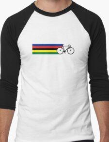 Rainbow Jersey (bicycle racing) Men's Baseball ¾ T-Shirt