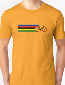 Rainbow Jersey (bicycle racing) Unisex T-Shirt